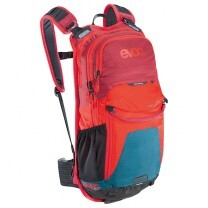 SAC A DOS STAGE 12L PETROL/ROUGE/RUBY