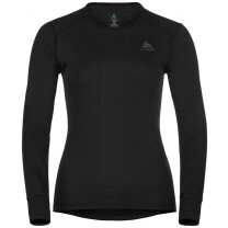 TEE SHIRT ML ACTIVE WARM ECO CREW LADY BLACK