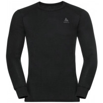 TEE SHIRT ML ACTIVE WARM ECO CREW BLACK