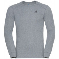 TEE SHIRT ML ACTIVE WARM ECO CREW GREY MELANGE