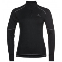 T-SHIRT ML ACTIVE X WARM ECO 1/2 ZIP FEMME