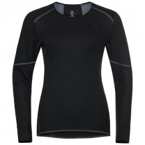 TEE SHIRT ML ACTIVE X WARM ECO CREW LADY BLACK