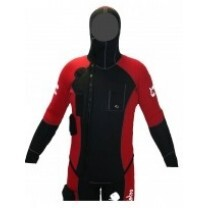 VESTE SPECIAL GUIDE ROUGE 5MM