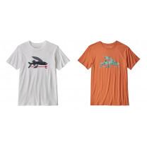 TEE SHIRT MEN'S FLYING FISH ORGANIC COTTON - TAILLE XL