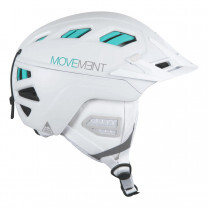CASQUE 3TECH FREERIDE WHITE/TURQUOISE