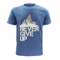 TEE-SHIRT NEVER GIVE UP