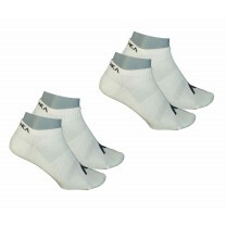 CHAUSSETTES RUNA LOW BLANC 2 PAIRES