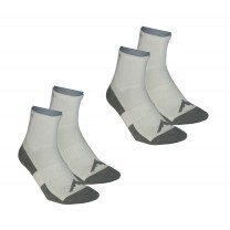 CHAUSSETTES WALKA MID BLANC 2 PAIRES