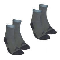 CHAUSSETTES WALKA MID GRIS 2 PAIRES