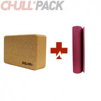 PACK BRIQUE + TAPIS DE YOGA