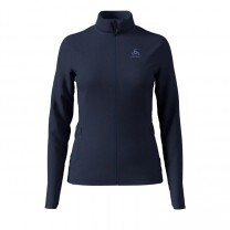 VESTE SIERRA ZIP-IN MIDLAYER FULL ZIP LADY BLEU - TAILLE L