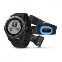 FENIX 5 HR GRAY, BRACELET NOIR - PACK PERFORMER