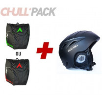 PACK PUR RIDE + SAC CHAUSSURES ET CASQUE