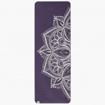 TAPIS DE YOGA 6MM MEDALLION AUBERGINE