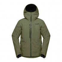 VESTE LOFOTEN GORE-TEX INSULATED OLIVE NIGHT
