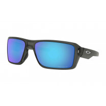 DOUBLE EDGE GREY SMOKE PRIZM SAPPHIRE POLARIZED