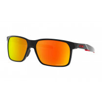 PORTAL X POLISHED BLACK PRIZM RUBY POLARIZED