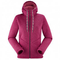 POLAIRE CALI HOODIE LADY CARMIN RED