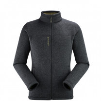 POLAIRE CALI FULL ZIP ANTHRACITE GREY