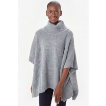 PONCHO INVERNESS GRIS