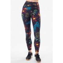 LEGGING ELIANA BLACK WILDFLOWER