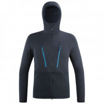 POLAIRE TRILOGY ULTIMATE WOOLPOWER HOODY SAPHIR