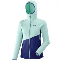VESTE ELEVATION POWER HOODIE LADY BLUE - TAILLE M