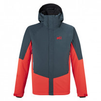 VESTE KLUANE NOIR ORION BLUE FIRE
