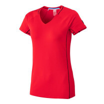 TEE SHIRT TRILOGY DELTA LADY TS SS ROUGE