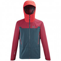 VESTE KAMET LIGHT GTX ORION BLUE TIBETAN RED