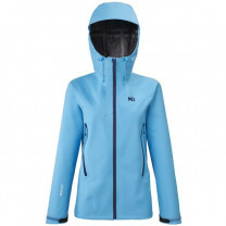 VESTE FEMME KAMET LIGHT GTX JKT W LIGHT BLUE
