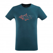 TEE SHIRT FUJI WOOL BLEND TS SS ORION BLUE