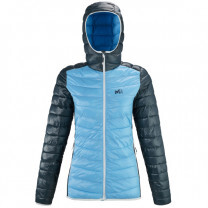 VESTE TILICHO HOODIE LADY LIGHT BLUE/ORION BLUE