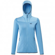 VESTE SENECA TECNO 2 HOODIE LADY LIGHT BLUE