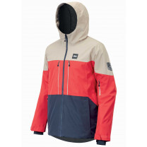 VESTE OBJECT RED DARK BLUE