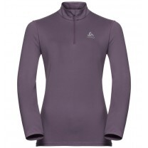 PULL ALAGNA MIDLAYER 1/2 ZIP LADY VIOLET - TAILLE XS
