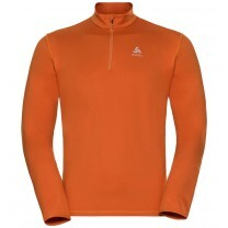 PULL ALAGNA MIDLAYER 1/2 ZIP ORANGE