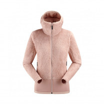 POLAIRE ARIAS FLEECE HOODIE W ROSE