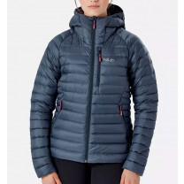 DOUDOUNE MICROLIGHT ALPINE JACKET LADY STEEL
