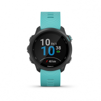 FORERUNNER 245 MUSIC BLACK AQUA