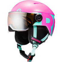 CASQUE VISOR JR GIRL PINK