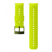 BRACELET ATHLETIC 3 SILICONE STRAP -24MM- LIME/BLACK