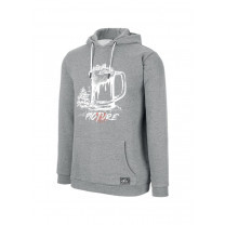 SWEAT BUCKET HOODIE DARK GREY MELANGE