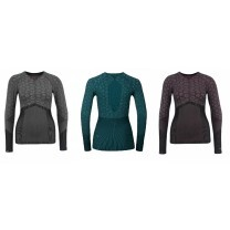 T-SHIRT ML EVO WARM BLACKCOMB- FEMME