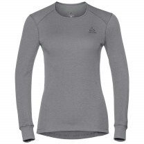 TEE SHIRT MANCHES LONGUES ACTIVE WARM LADY GREY