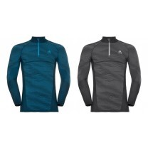TEE SHIRT MANCHES LONGUES BLACKCOMB ½ ZIP