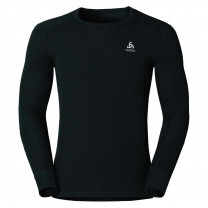 TEE SHIRT MANCHES LONGUES ACTIVE WARM BLACK