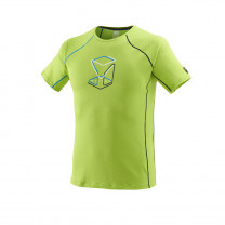 TEE SHIRT TRILOGY DELTA CUBE ACID GREEN - TAILLE XS