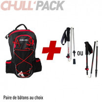 PACK TRAIL FAST 12 + BATONS