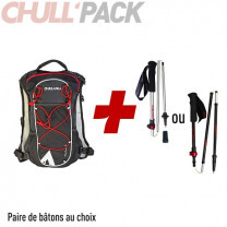 PACK TRAIL FAST 6 + BATONS